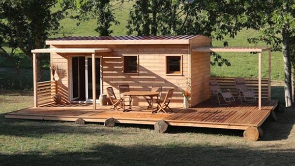 Во Франции начали строить экономичные дома из деревянных «кирпичей» по принципу Lego
