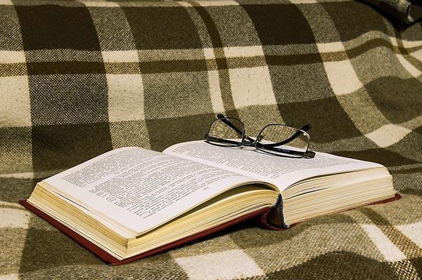Плед и книжка