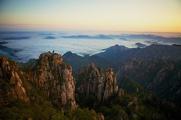 Горы в Китае