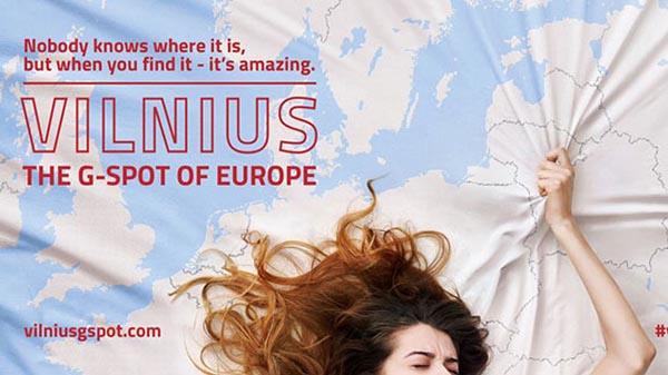 Вильнюс начал рекламировать себя как «точку G Европы» и, по совпадению — перед визитом Римского Папы