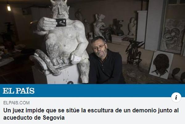 Скрепы: в Испании затормозили установку скульптуры «слишком добродушного» дьявола