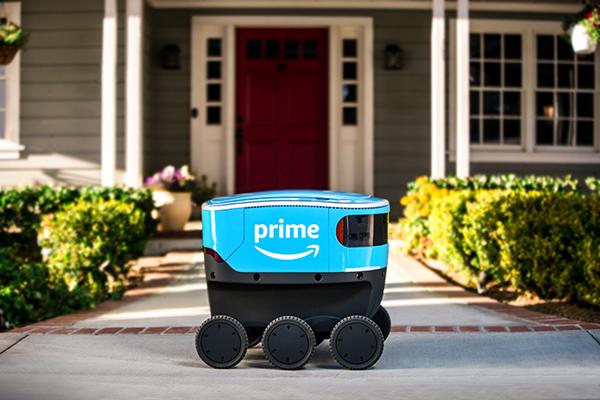 Первые роботы-курьеры супермаркета Amazon вышли на работу (видео)